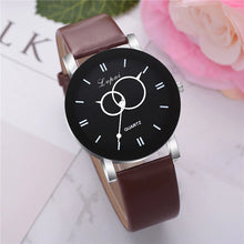 Carica l'immagine nel visualizzatore di Gallery, <B>BRISK</B> | Orologio UNISEX per donna, uomo, ragazza e ragazzo colore <B>MARRONE SCURO</B> (<I>UNISEX watch for men, woman, girl and boy DARK BROWN</I>) (Load image into Gallery viewer, <B>BRISK</B> | Orologio UNISEX per donna, uomo, ragazza e ragazzo colore <B>MARRONE SCURO</B> (<I>UNISEX watch for men, woman, girl and boy DARK BROWN</I>))