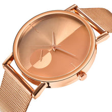 Carica l'immagine nel visualizzatore di Gallery, <B>STEEL TIME</B> | Orologio UNISEX per donna e uomo quadrante <B>ROSA ORO</B> cinturino <B>ROSA ORO</B> (<I>UNISEX watch for woman and man ROSE GOLD dial ROSE GOLD strap</I>) (Load image into Gallery viewer, <B>STEEL TIME</B> | Orologio UNISEX per donna e uomo quadrante <B>ROSA ORO</B> cinturino <B>ROSA ORO</B> (<I>UNISEX watch for woman and man ROSE GOLD dial ROSE GOLD strap</I>))