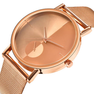 <B>STEEL TIME</B> | Orologio UNISEX per donna e uomo quadrante <B>ROSA ORO</B> cinturino <B>ROSA ORO</B> (<I>UNISEX watch for woman and man ROSE GOLD dial ROSE GOLD strap</I>)