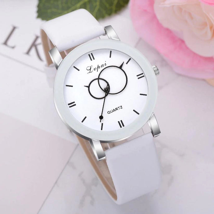 <B>BRISK white</B> | Orologio UNISEX per donna, uomo, ragazza e ragazzo colore <B>BIANCO</B> (<I>UNISEX watch for men, woman, girl and boy WHITE</I>)