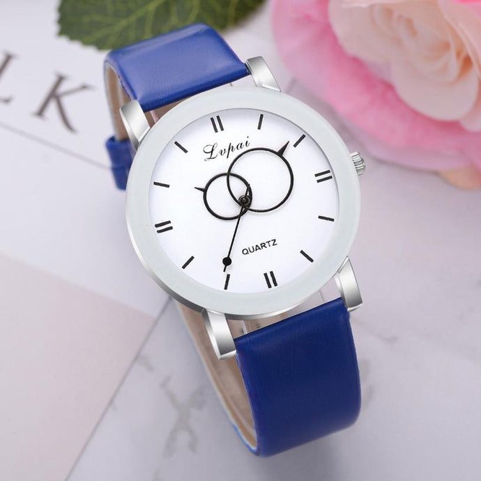 <B>BRISK white</B> | Orologio UNISEX per donna, uomo, ragazza e ragazzo colore <B>BLU SCURO</B> (<I>UNISEX watch for men, woman, girl and boy DARK BLUE</I>)
