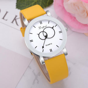 <B>BRISK white</B> | Orologio UNISEX per donna, uomo, ragazza e ragazzo colore <B>GIALLO</B> (<I>UNISEX watch for men, woman, girl and boy YELLOW</I>)