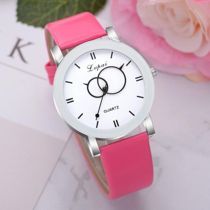 <B>BRISK white</B> | Orologio UNISEX per donna, uomo, ragazza e ragazzo colore <B>FUCSIA</B> (<I>UNISEX watch for men, woman, girl and boy FUCHSIA</I>)