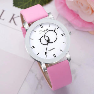 <B>BRISK white</B> | Orologio UNISEX per donna, uomo, ragazza e ragazzo colore <B>ROSA</B> (<I>UNISEX watch for men, woman, girl and boy PINK</I>)