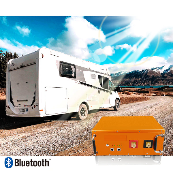 Customer review:Lifepo4 battery 172Ah(VB101) in DUCATO panel van installation