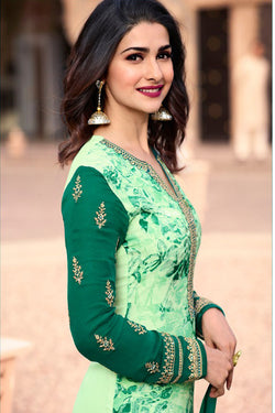 Prachi Desai Digital Printed Bollywood Salwar Suit from Vinay Fashion