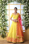 Party Wear Art Silk Wedding Lehenga Choli From Bridal Ethnic