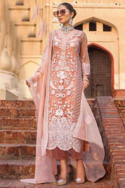 Embroidered Work Pakistani Suit in Attractive Pakistani Style Sequence