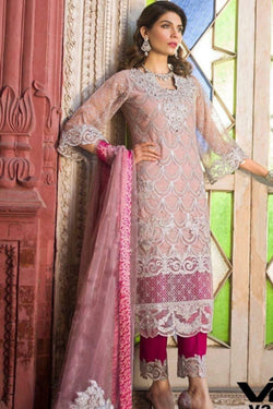 Designer Pakistani Salwar Suit in Charming Latest Trendy Thread work
