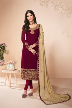 Designer Salwar Suit in Latest Trendy Georgette Thread work