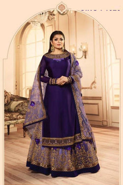 Evening Party Wear Suit from Drashti Dhami Wardrobe with Daimond Work