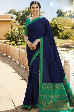 Fashionable Rangoli Silk Festive Wear Saree from Prachi Desai wardrobe