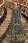 Zari Codding Embroidery Work Wedding Engagement Occasion Wear Indo Western Fusion Gown