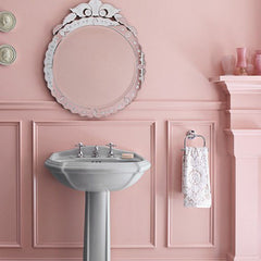 The powder room is the best place to roll the dice and take a risk on color.