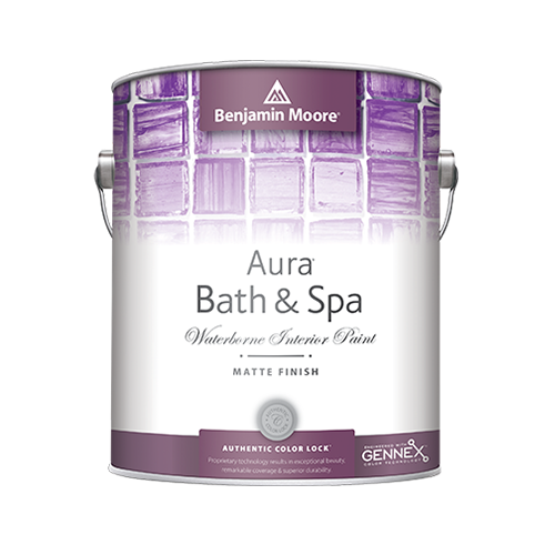 Benjamin Moore Aura Bath & Spa interior paint available at Gleco Paint in PA.