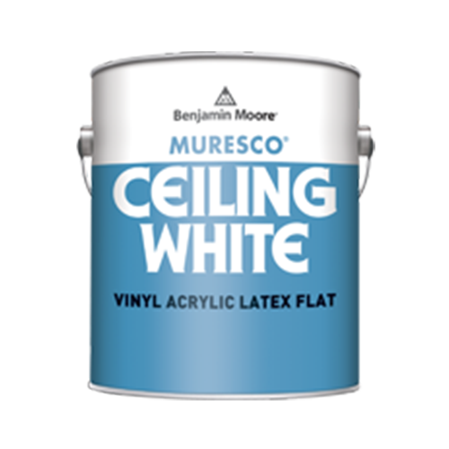 Benjamin Moore Muresco Ceiling White paint available at Gleco Paint in PA.