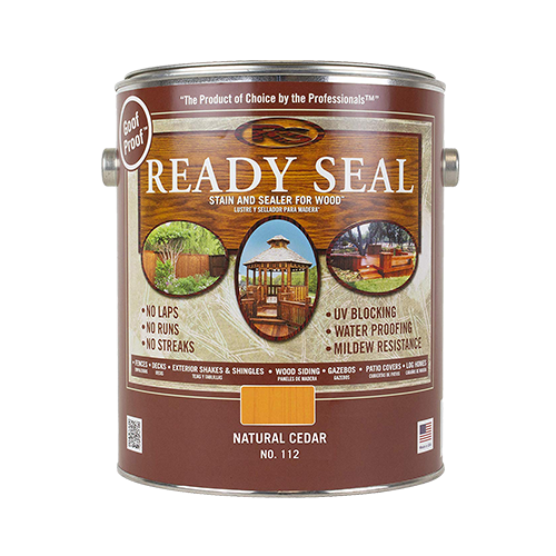 Ready Seal exterior stain and sealer available at Gleco Paint in PA.