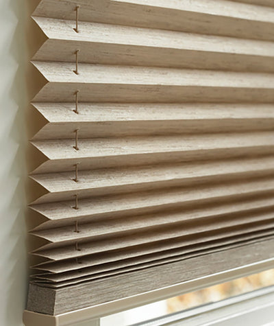 Hunter Douglas Window Treatments Pleated Shades Detail