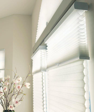 Applause Window blinds by Hunter Douglas available at Gleco Paint in PA.