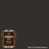 Coronado Maxum siding stain in the color MX-016 Oxford Brown available at Gleco Paint in PA.