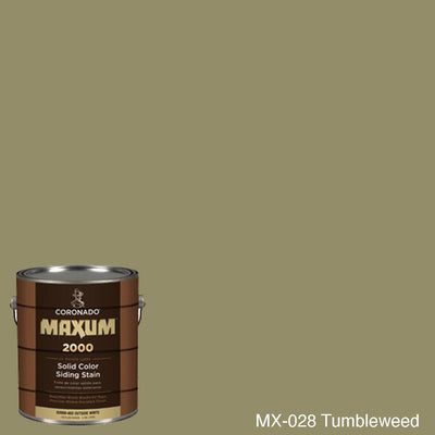 Coronado Maxum siding stain in the color MX-028 Tumbleweed available at Gleco Paint in PA.