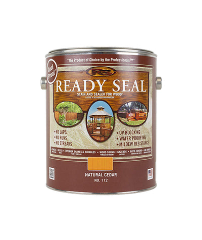 Ready Seal stain and sealer for wood, available at Gleco Paints in PA.