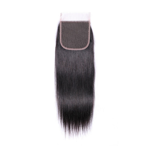 AFRICA HAIR BEAUTY 4*4 Lace Closure Straight Hair Weave