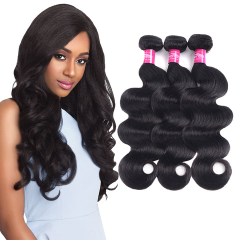 AFRICA HAIR BEAUTY Body Extensions Brazilian Human Hair