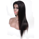 4x4 Lace Closure Human Hair Wig Brazilian Straight Hair 8-24 inches