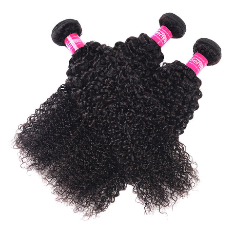 Brazilian Curly Hair Bundles 1 Pieces Human Hair Weave Bundle