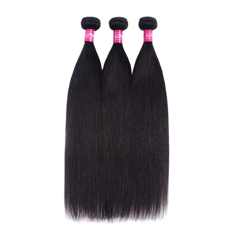 10A Brazilian Human Hair Weave 3 Bundles