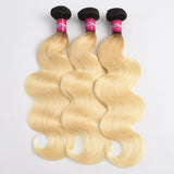Body Wave T1b 613 Dark Roots Hair Extension
