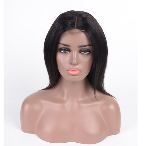 Lace Front Human Hair Wig Remy Hair 2*4 Lace Closure Wig 8-24 Inches With Fast Shipping