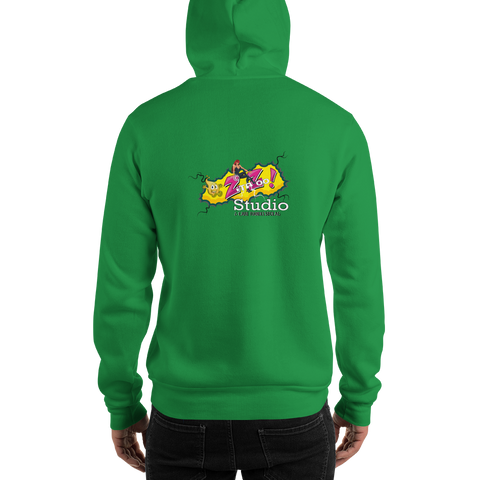 ZitaZoo Green Screen Hooded Sweatshirt