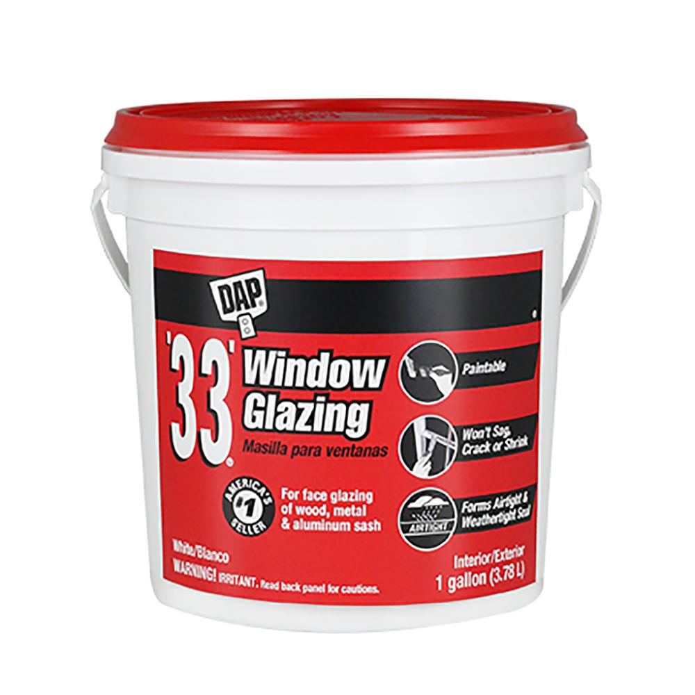 DAP 33 Window Glazing, available at Creative Paint in San Francisco, South Bay & East Bay.