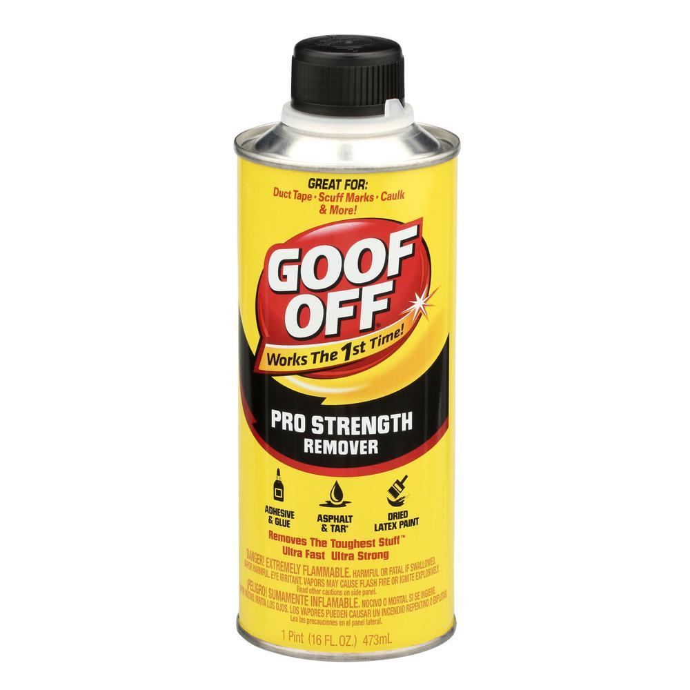 Goof Off pro strength remover, available at Creative Paint in San Francisco, South Bay & East Bay