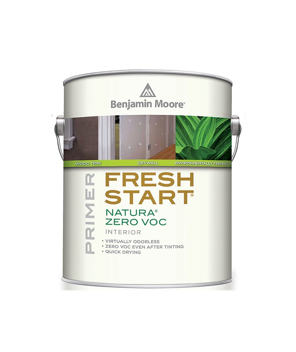 Benjamin Moore Fresh Start Natura Zero VOC Primer, Creative Paint in San Francisco, South Bay & East Bay.
