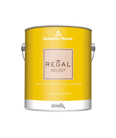 Benjamin Moore Regal Select Flat Paint available at Creative Paint in San Francisco, South Bay & East Bay.