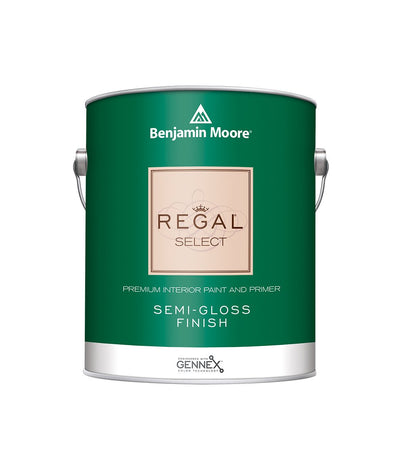 Benjamin Moore Regal Select Semi-Gloss Paint available at Creative Paint in San Francisco, South Bay & East Bay.