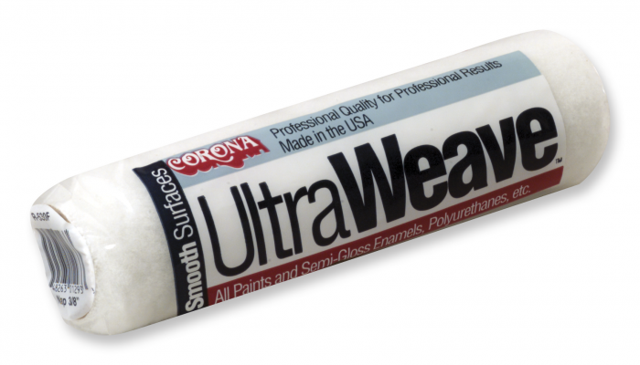 "Corona Ultraweave 9"" 3/8"", available at Creative Paint in San Francisco."