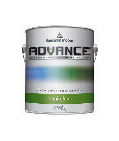 Benjamin Moore Advance Semi Gloss Paint available at Creative Paint in San Francisco, South Bay & East Bay.
