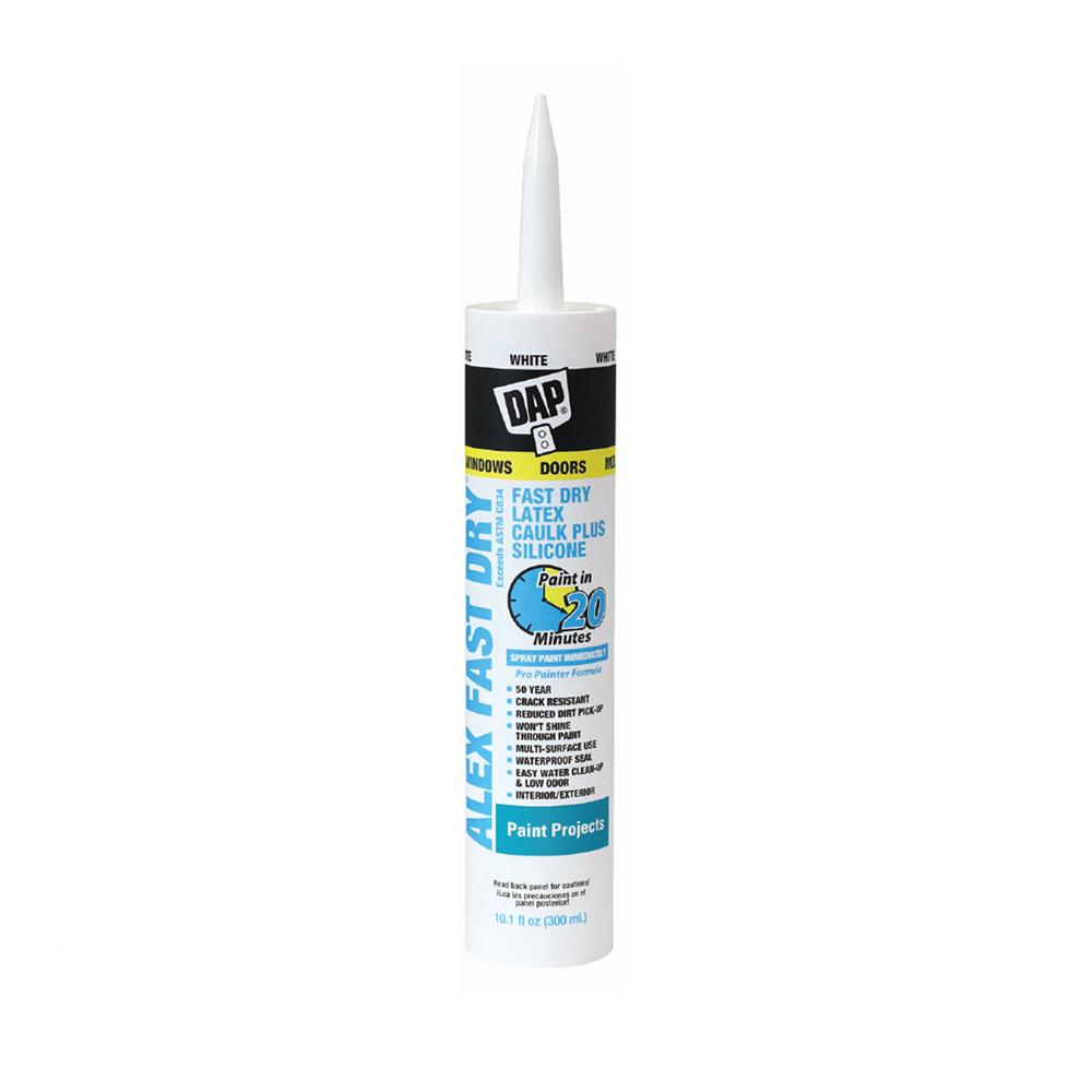 Alex fast dry caulk, available at Creative Paint in San Francisco.