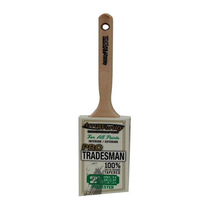 "2.5"" Tradesman Angled Paint Brush, available at Creative Paint in San Francisco, South Bay & East Bay."
