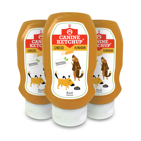 Canine Ketchup 425g - Cheese Flavour