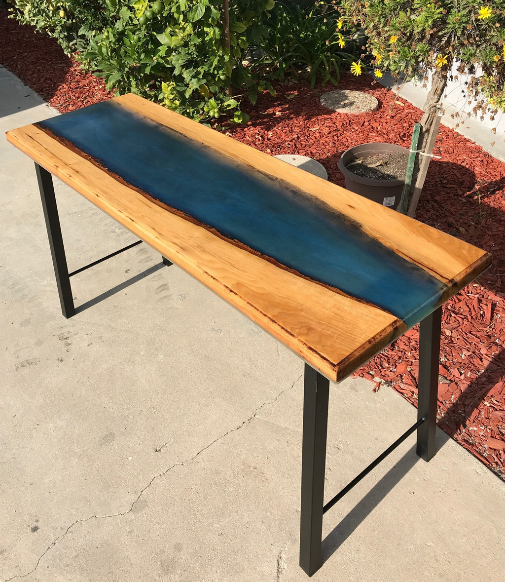 River Resin Slab Tables 1