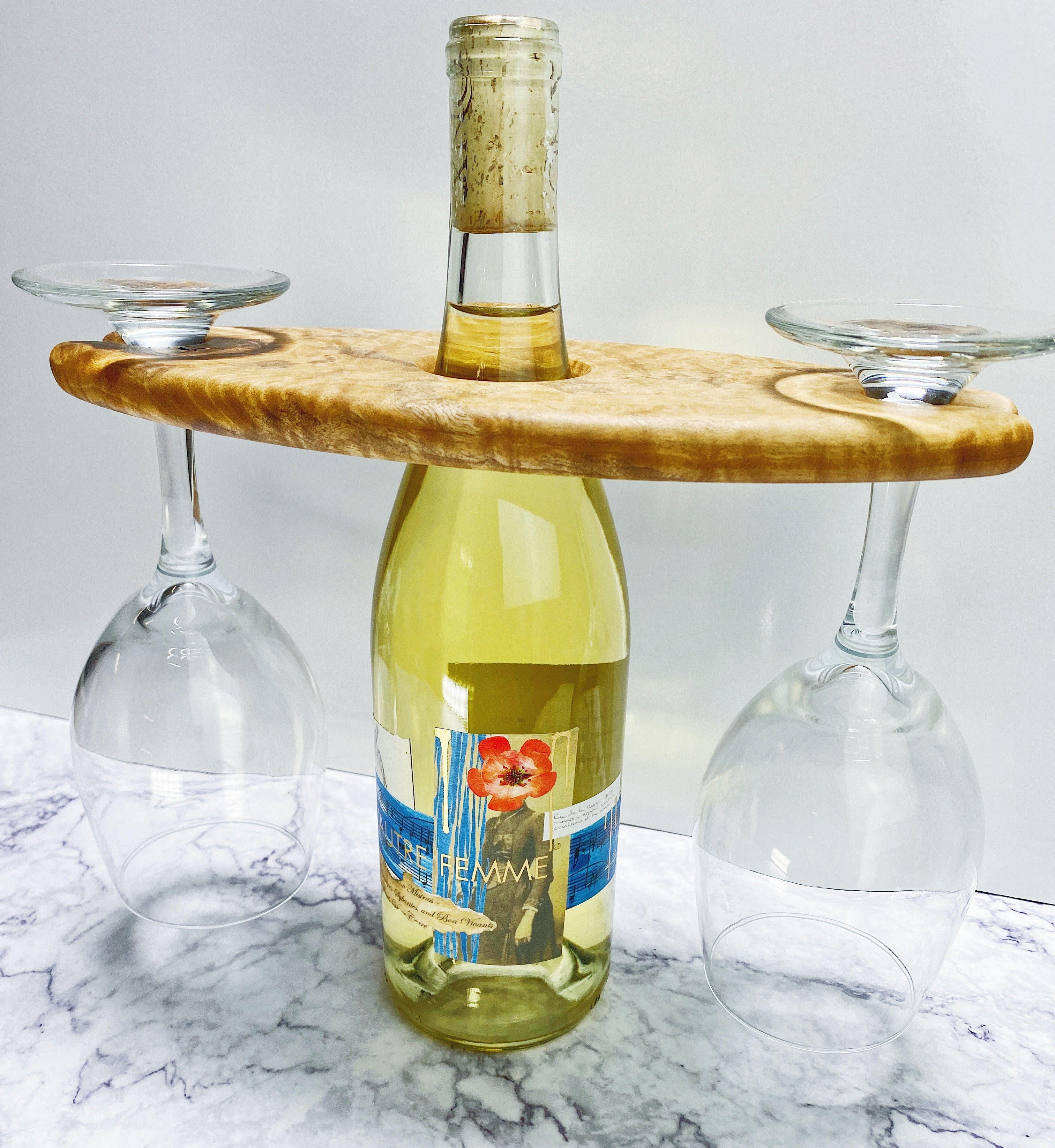 Wine Caddy - 2 glasses