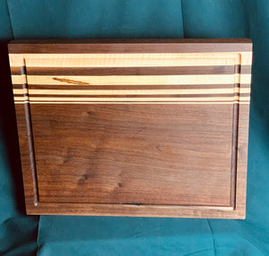 Bubinga & Maple Cutting Board