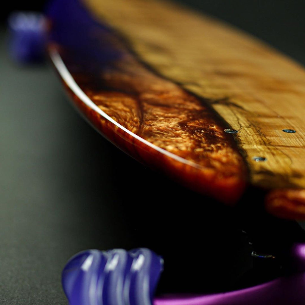Custom Wood & Resin Longboard