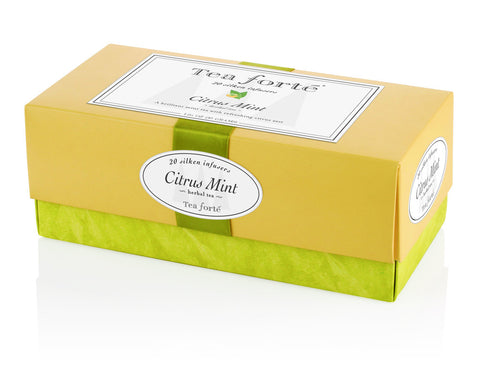 Ribbon Box Single Blends Tea Infusers: Citrus Mint