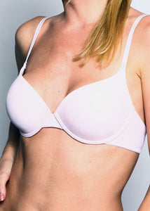 BASIC Perforated Pink Padded Bra by Breeze Comfort Bras- Studio Europe